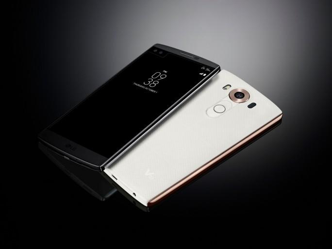 Das LG V10 wird ab Ende Dezember für 649 Euro bei Amazon erhältlich sein (Bild: LG).