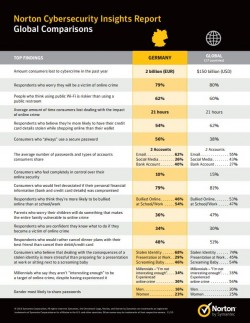 Norton Cybersecurity Insights Report (Screenshot: ZDNet.de)