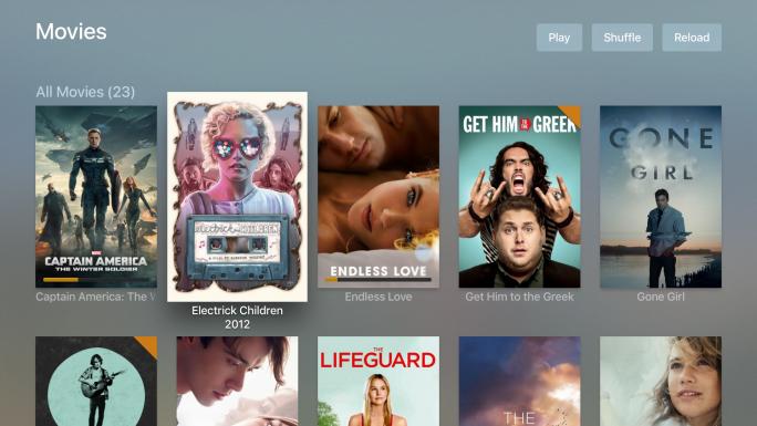 Filmansicht in Plex für Apple TV (Bild: Plex)