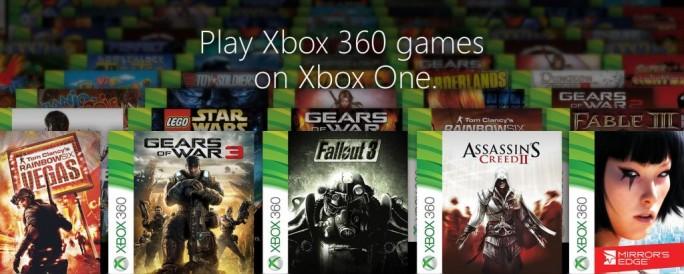 Xbox-360-Titel lassen sich bald auch emuliert auf der Xbox One spielen (Bild: Microsoft).