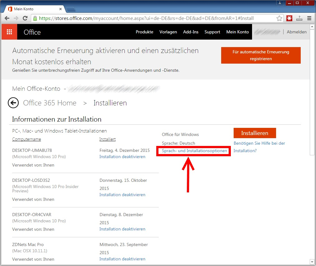 office 365 offlineinstallationsprogramm von office 2016