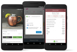 Android Pay in der App (Screenshot: Google)