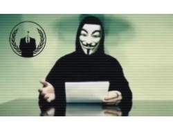 Videobotschaft von Anonymous (Screenshot: ZDNet.de bei Youtube)