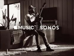 Apple Music wird ab Mitte Dezember auf Lautsprechersystemen von Sonos abrufbar sein (Bild: Sonos).