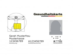 Elektronische Gesundheitskarte (Grafik: Gematik GmbH)