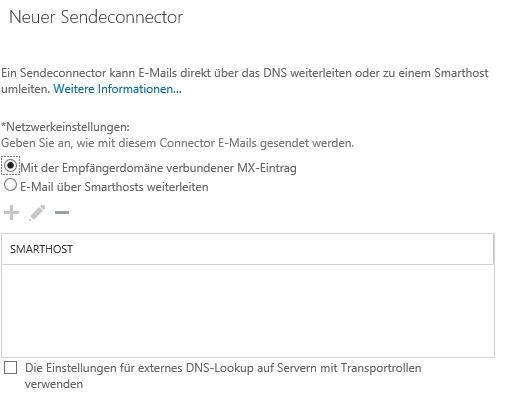 Der Nachrichtenfluss in der Exchange-Organisation muss ebenfalls angepasst werden (Screenshot: Thomas Joos).