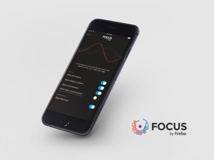 Focus by Firefox blockiert unter iOS 9 unerwünschte Inhalte und verhindert Nutzer-Tracking (Bild: Mozilla).