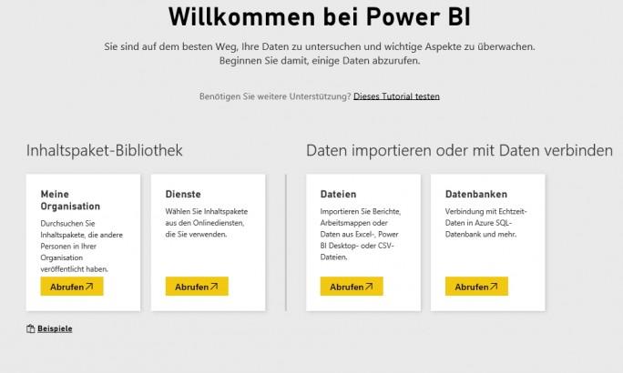 Mit Power BI Pro können Anwender umfassende Datenanalysen durchführen (Screenshot: Thomas Joos).