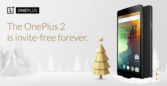 Ab dem 5. Dezember ist das OnePlus 2 dauerhaft ohne Einladung erhältlich (Bild: OnePlus).