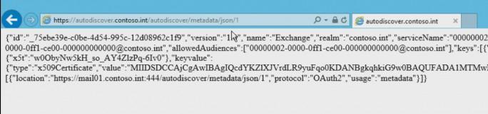 Mit einem Browser kann das Zertifikate für die Skype/Exchange-Verbindung getestet werden (Screenshot: Thomas Joos).