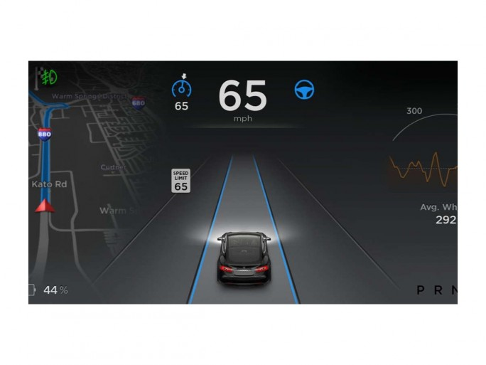 Tesla Autopilot (Bild: Tesla)