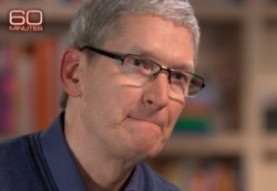 "Tim Cook bei CBS' ""60 Minutes"" (Screenshot: ZDNet)"