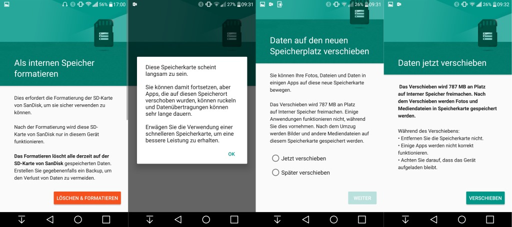 Android 7 Sd Karte Als Interner Speicher.Android 6 0 Marshmallow Und Microsd Card Support Zdnet De