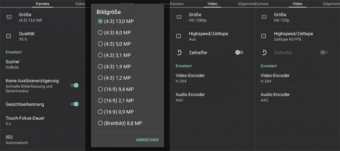 BQ Aquaris Cyanogen Edition: Kamera (Bild: ZDNet.de)