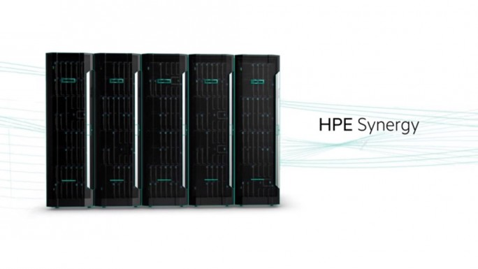 HPE Synergy (Screenshot: ZDNet.de)