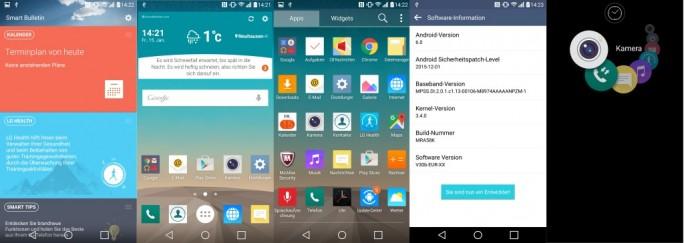 LG G3: Android 6.0 Marshmallow (Bild: ZDNet.de)