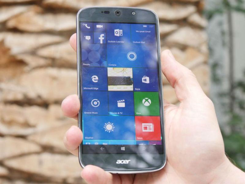 CES: Acer zeigt Windows-10-Smartphone mit Continuum ...