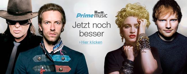 Prime Music umfasst nun auch Künstler aus dem Katalog von Warner Music (Bild: Amazon).