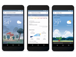 Wetterbericht für Android (Bild: Google)