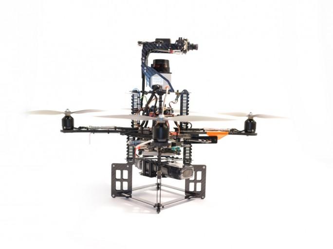 Drohne AscTec Pelican (Bilid: Ascending Technologies)