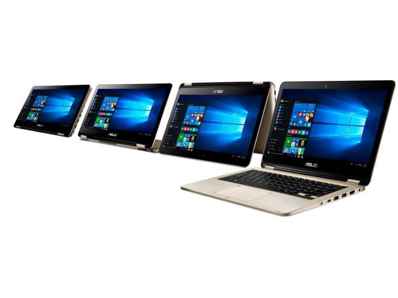 CES: Asus enthüllt Convertible-Reihe VivoBook Flip