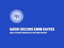 Good Secure EMM Suites (Bild: Blackberry)