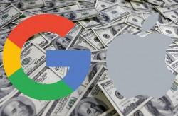 Google zahlte 2014 eine Milliarde Dollar an Apple, um Standardsuche unter iOS zu bleiben (Bild: ZDNet.com).