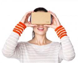 Google war bei Virtual Reality bisher nur mit der günstigen Lösung Cardboard aktiv. Das könnte sich 2016 ändern (Screenshot: ITespresso.de).