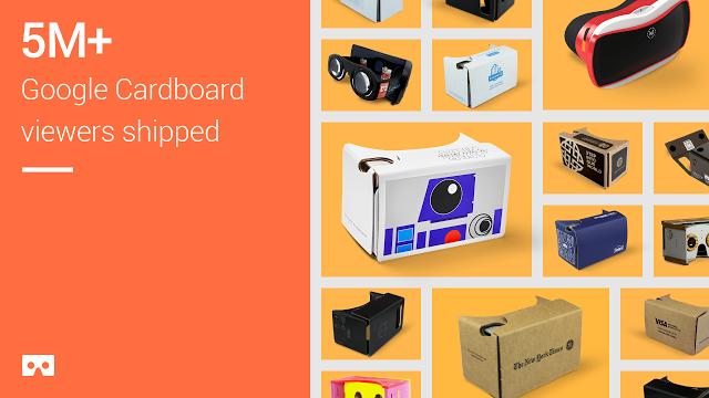Cardboard-Meilenstein (Bild: Google)