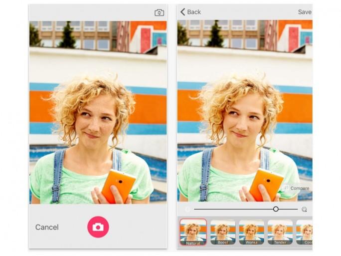 Microsoft Selfie für iOS (Screenshot: ZDNet bei iTunes)