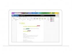 Zusammenarbeit via Office Online an einem auf Box gehosteten Dokument (Bild: Box.com)