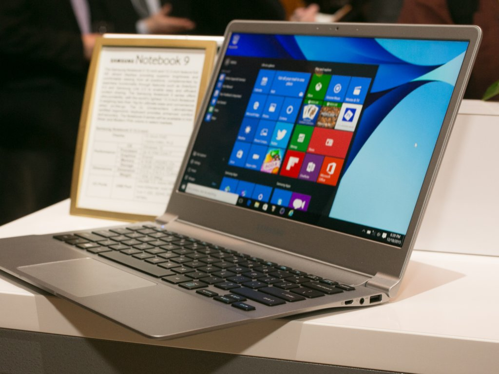 Samsung Notebook 9: 13-Zoll-Modell wiegt weniger als 900 ...