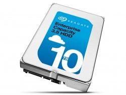 Die Enterprise Capacity 3.5 HDD 10TB ist Seagates erste heliumgefüllte Festplatte (Bild: Seagate).