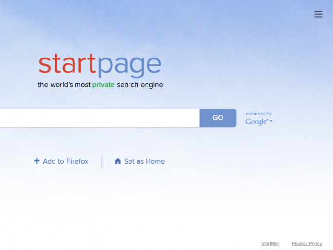 StartPage (Screenshot: ZDNet.de)