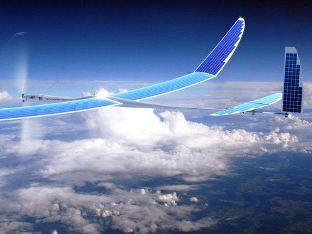 Solarbetriebene Drohne von Titan Aerospace, einem von Google übernommenen Start-up (Bild: Titan Aerospace)