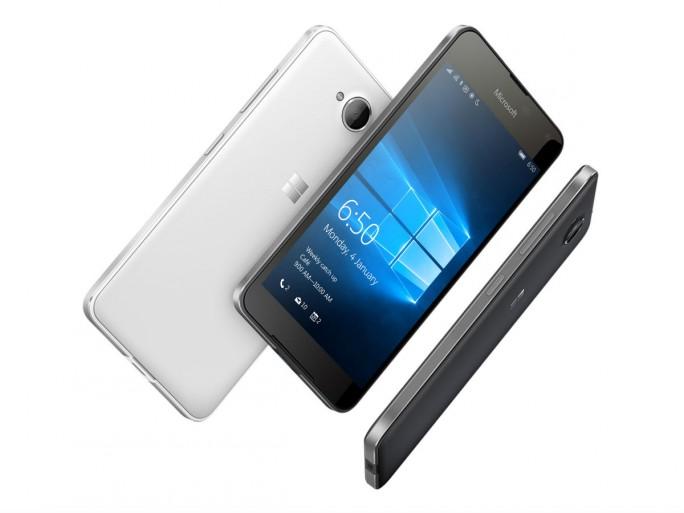 Das Lumia 650 siedelt sich zwischen dem Einstiegsgerät Lumia 550 und den High-End-Modellen 950 sowie 950 XL an (Bild: Microsoft).