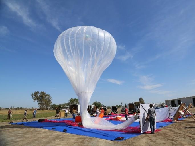 Ballon von Project Loon (Bild: Google)