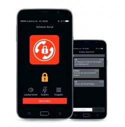 Vodafones Secure-Call-App kann bald auch Textnachrichten Ende zu Ende verschlüsseln (Bild: Vodafone).