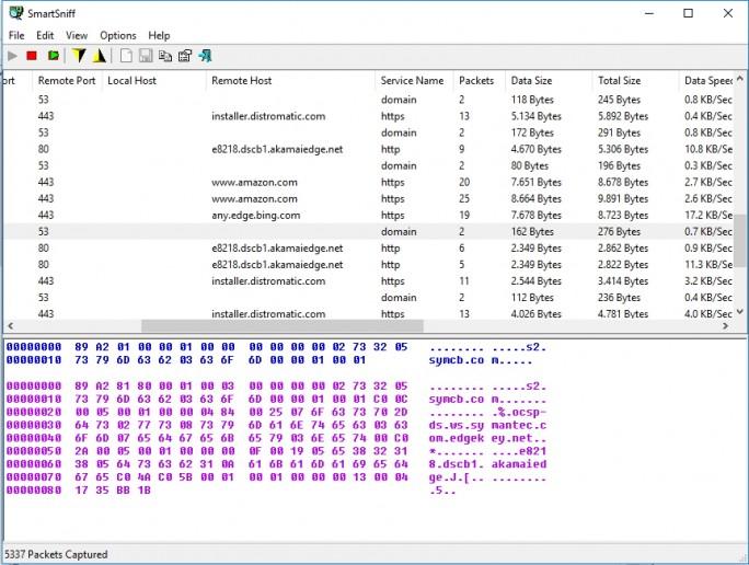 Mit Tools wie SmartSniff lassen sich Schnüffel-Server schnell finden, nicht nur die von Microsoft (Screenshot: Thomas Joos).