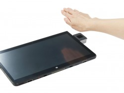 Die Handvenenerkennung dient zur berührungslosen Authentifizierung (Bild: Fujitsu).