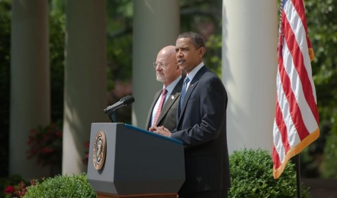 Barack Obama schlug James Clapper 2010 als Geheimdienstverantwortlichen vor (Bild: Whitehouse.gov, gemeinfrei)