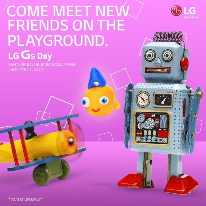 LG wird das G5 am gleichen Tag vorstellen wie Samsung sein Galaxy S7 (Bild: LG).