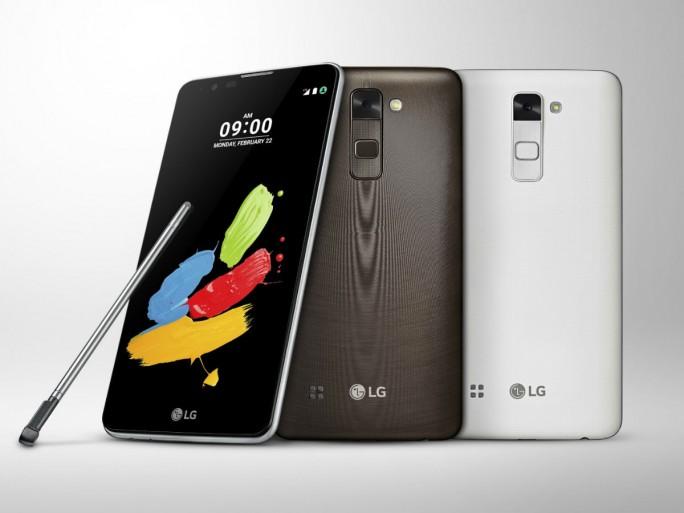 Das Stylus 2 kommt mit einem verbesserten Bedienstift, mehr Speicher und Android 6.0 Marshmallow (Bild: LG).