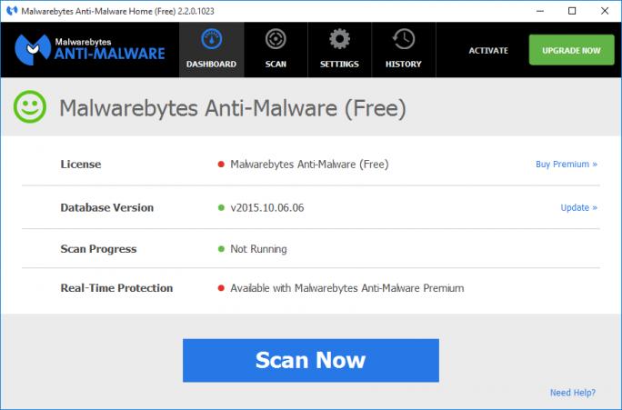 Die von Ormandy entdeckten Lücken stecken in der Privatanwenderversion von Malwarebytes Anti-Malware (Bild: Malwarebytes).