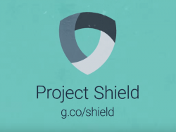 (Logo: Project Shield)
