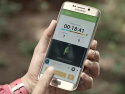 So zeigt sich das Galaxy S7 Edge in einem offiziellen Werbevideo von Samsung (Screenshot: ZDNet.de)