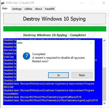 Mit einem kostenlosen Tool lassen sich Hosts-Einträge für besseren Datenschutz in Windows 10 erstellen (Screenshot: Thomas Joos).
