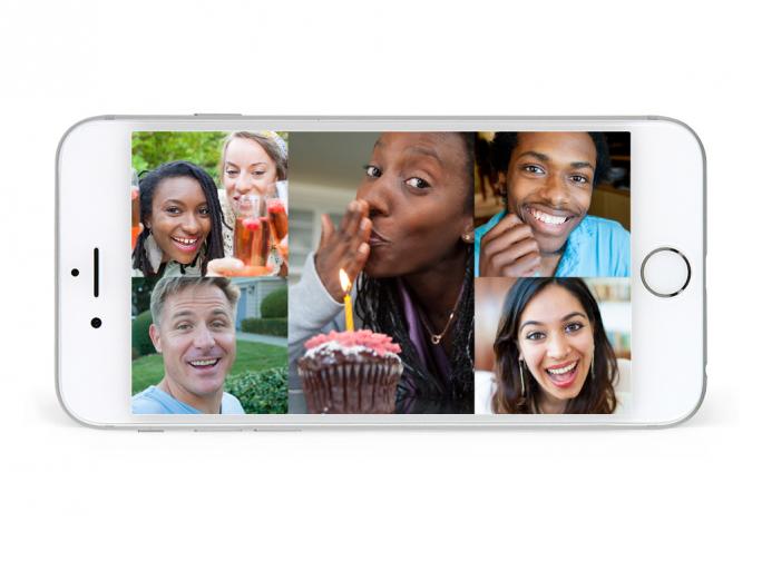 Skype führt Gruppenvideoanrufe für iOS und Android ein (Bild: Skype).