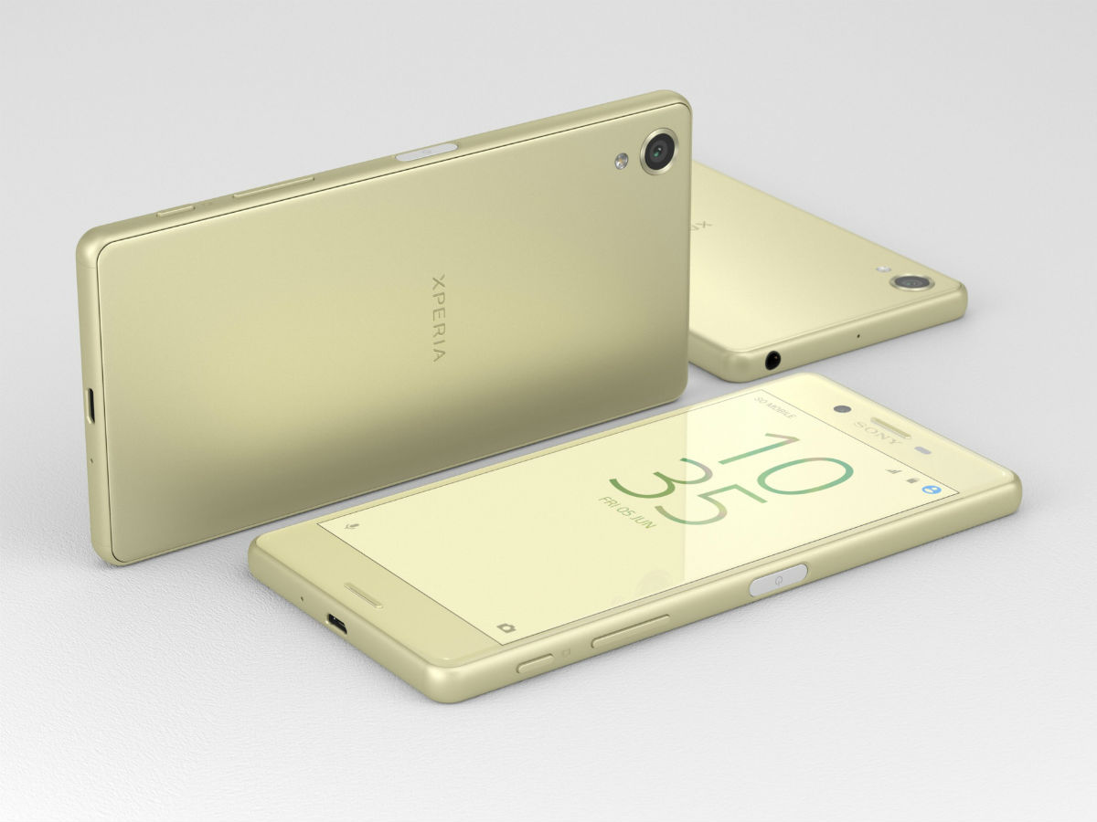 MWC: Sony stellt Android-Smartphone-Reihe Xperia X vor