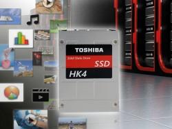 Die Reihen HK4E und HK4R verwenden als erste Enterprise-SSDs von Toshiba im 15-Nanometer-Verfahren gefertigten MLC-NAND-Flashspeicher (Bild: Toshiba).